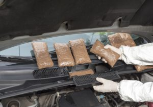 A Large Number of Drugs Seized by U.S. Customs and Border Protection