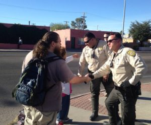 Read more about the article Tucson Deputies Passing Out Cash Donations For The Holiday Season